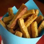Chickpea Fries with Garlic Mayo - Brazen Kitchen ....making for dinner :)