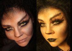 Makeup your Jangsara: Halloween tutorial: Were-animal--I think I've got it!!!!