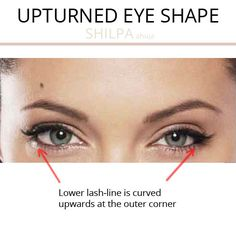 What's Your Eye Shape + Best Makeup for Your Eye Shape - Shilpa Ahuja Makeup For Downturned Eyes, Dark Smokey Eye Makeup, Eye Shape Makeup, Simple Eye Makeup, Eye Shape Chart, Protruding Eyes, Eye Makeup Pictures, Thin Eyeliner, Wide Set Eyes