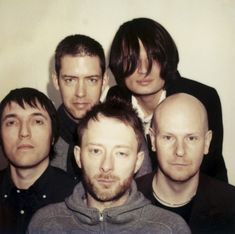 Thom Yorke, Colin Greenwood, Johnny, Ed O'Brien, Phil Selway.