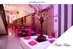 Espaços prontos para fazer do seu evento um sonho, conheça o Buffet Tulipas!  (11) 2076-9919  www.buffettulipas.com.br
