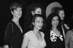 Director, Virginia Romero at Projection d'Heroines, Elysées Biarritz, Paris, December 2014.