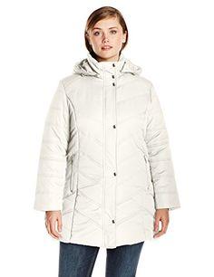 93fcf66052e Women s Plus-Size Mid-Length Puffer Coat Big Chill