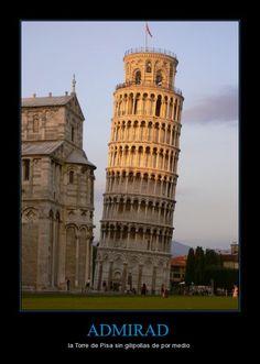ADMIRAD - la Torre de Pisa sin gilipollas de por medio