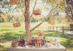 magical picnic. Image: Pobke Photography. Styling: White Ribbon Events.
