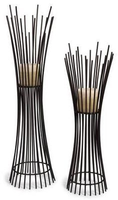 Reed Metal Candle Stand Pair * Home Accessories at Art.com