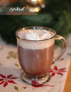 Spiked Hot Chocolate!