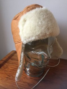 Sheep skin strings/details/ear flaps/sheep skin /lamb skin by WifinpoofVintage on Etsy Trapper Hats, Vintage Vibes, Sheep, Cool Stuff, Stuff To Buy, Lamb, My Etsy Shop, 1970s, Buy And Sell