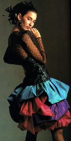 Lawrence/Jacobson's, Vogue, September 1987.