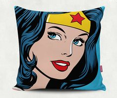Instant Download - Wonder Woman Illustration - EPS and JPEG for pillow case, poster, tshirt printing