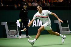 Roger Federer vs Haase (4/6-6/1-6/1) - 16 février 2018 - Quart de finale ATP 500 Rotterdam - Roger Federer redevient à 36 ans 195 jours le plus vieux jours numéro 1 mondial