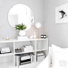 Uma paixão por quartos brancos