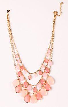Rose Drop Necklace