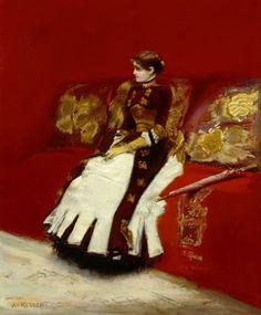 Albert von Keller (1844 –1920), Swiss Artist