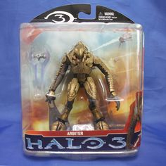 MCFARLANE HALO 3 SERIES 2 CAMPAIGN ARBITER in Toys & Hobbies | eBay
