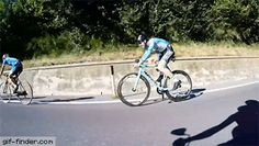Skilful cyclist rides like Superman at crazy speeds | Gif Finder – Find and Share funny animated gifs