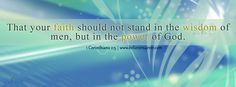 Power of God - Free FB timeline cover