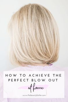 HOW TO GET A PERFECT SALON BLOWOUT AT HOME | I am sharing my biggest secret for healthy hair and my best tools and tips for how to do blowdry your hair at home.  #blowouttips #diyblowout #blowout #hairmask #hairtips