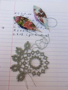 Le Blog de Frivole: The Difficulty of Old Patterns! Some very nice patterns located on this blog!