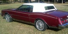 '83 Buick Riviera. Ours was blue, diesel, and not convertible.