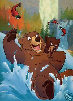 Disney 11x14 Print Brother Bear Koda Kenai Movie Poster | eBay