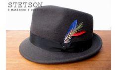 Stetson chapeau homme Richmond taupe #chapeauhomme #stetson #petitbord #menshat #mensfashion #modehomme #lookhomme