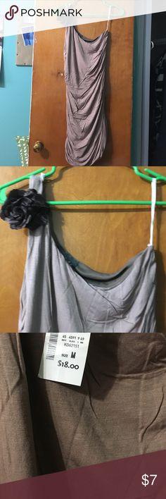 Off shoulder med dress NWT Half shoulder dress Dresses Mini