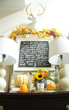 Fall Home Tour | Part 1 - Style Your Senses