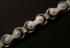 Hey, I found this really awesome Etsy listing at https://www.etsy.com/listing/190315200/upcycled-bike-chain-bracelet