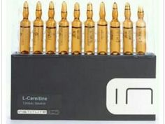 L-CARNITINE (Mesotherapy) 10 amps! Better than Cardispan