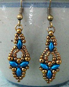 71726717f Four more pairs of Elinor Earrings. Ručně Vyrobené NáušniceMalé  KorálkyNávody ...