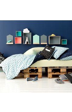Luxe Pillowcase, MOODY BLUES