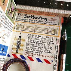 Practicing and singing improve the result. by Jose Naranja Memory Journal, Journal Pages, Moleskine, Ladybug 2, Notebook Art, Ex Libris, Book Binding, Angkor, Book Making