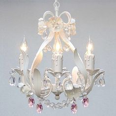 Found it at Wayfair - Harrison Lane Garden 4 Light Crystal Chandelierhttp://www.wayfair.com/Harrison-Lane-Garden-4-Light-Crystal-Chandelier-T40-156-HARS1178.html?refid=SBP