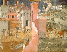 Foto: Tra città e campagna: le mura aperte di Siena