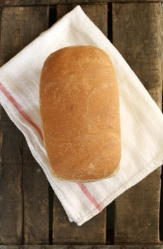 Mmmm fresh out of the oven! I've been trying to make more bread instead of buying it. I found this recipe and knew it would be the next one to try.And who doesn't love Julia!?! You should hear my husband's Julia voice :)Here is the recipe from Dinner With JulieJulia Child's White…