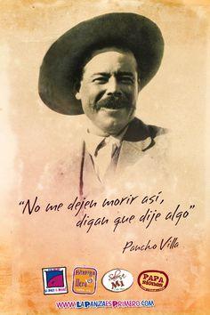 Pancho Villa fue uno de los jefes de la revolución mexicana.