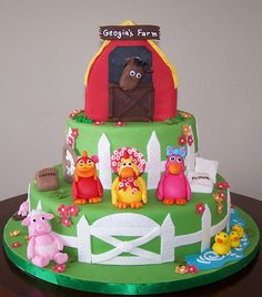 Farm Cake by cakespace - Beth (Chantilly Cake Designs), via Flickr