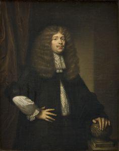 """Caspar Netscher, (About 1636 - 1684), """"Coenraad van Beuningen (1622-1693)?, Burgomaster of Amsterdam"""". 1675"""