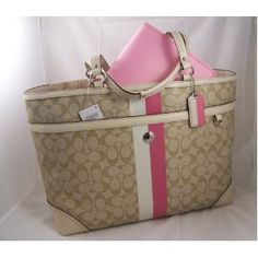 coach diaper bag bought this one but in turquoise and white - Baby Diaper Bags