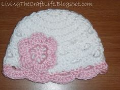 Scalloped Beanie - Free Crochet Pattern