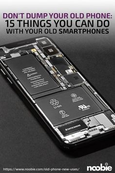 Don't Dump Your Old Phone: 15 Things You Can Do With Old Phones - tecnology World Cell Phone Hacks, Old Cell Phones, Smartphone Hacks, Old Phone, Computer Diy, Computer Projects, Arduino Projects, Computer Gadgets, Spy Gadgets