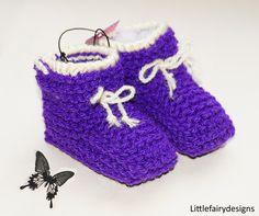 HANDMADE Baby Booties by Littlefairydesigns on Etsy