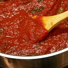 Previous pinner wrote: I will never, ever buy jarred sauce again! By far the best and easiest spaghetti sauce to make.