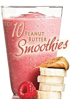 15 Vegan Peanut Butter Smoothie Recipes - I love smoothies because I can make them quickly, eat them for a snack or part of a meal, and put a lot of fruit and veggies in and it will taste delicious.  Normally I wouldn't think to put peanut butter in my smoothie, but since my husband loves peanut butter, I decided to give it a try and was pleasantly surprised.