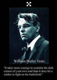 William Butler Yeats-- everything he wrote just touches my heart . Wisdom Quotes, Me Quotes, Irish Quotes, Great Quotes, Inspirational Quotes, Motivational Quotes, Karma, William Butler Yeats, Writers And Poets