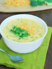 Low Carb Broccoli Cheese Soup - The Low Carb Diet