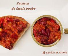 Zacusca de fasole boabe Canning Recipes, Chana Masala, Conservation, Ethnic Recipes, Food, Christmas, Xmas, Essen, Navidad