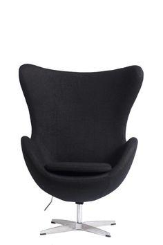 Черное, покрытое кашемиром кресло Egg Chair предназначено для отдыха и работы, хорошо регулируется. Модель с подлокотниками выполнена из высококачественных комплектующих.             Метки: Кресла для дома, Кресла с высокой спинкой, Кресло для отдыха.              Материал: Металл, Ткань.              Бренд: DG Home.              Стили: Лофт, Скандинавский и минимализм.              Цвета: Черный.