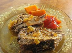 Crockpot Savory Pot Roast is a Fabulous and Easy Recipe